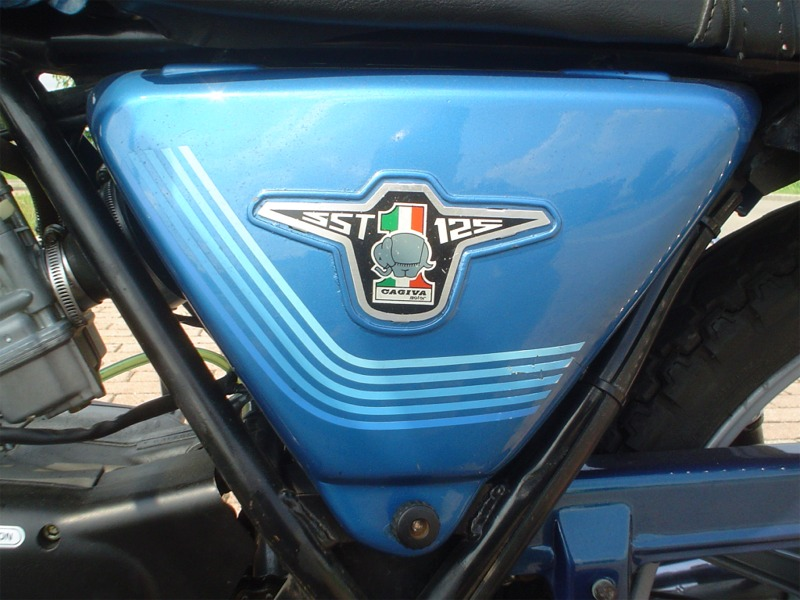 Cagiva 125 SST vintage motorcycle 1980